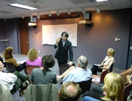 Dr. John Demartini Spoke at Unique Mindcare April 10